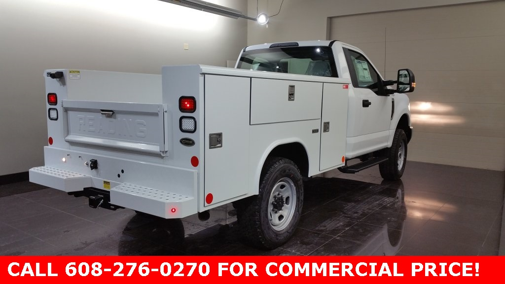 2017 F-350 Regular Cab 4x4,  Reading Classic II Steel Service Body #H0873 - photo 4