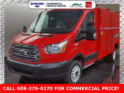 2017 Transit 350 HD DRW, Reading Aluminum CSV Service Utility Van #H0950 - photo 1