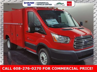 2017 Transit 350 HD DRW, Reading Aluminum CSV Service Utility Van #H0950 - photo 3