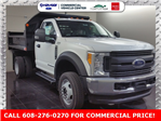 2017 F-550 Regular Cab DRW 4x4,  Monroe MTE-Zee Dump Dump Body #H0961 - photo 3