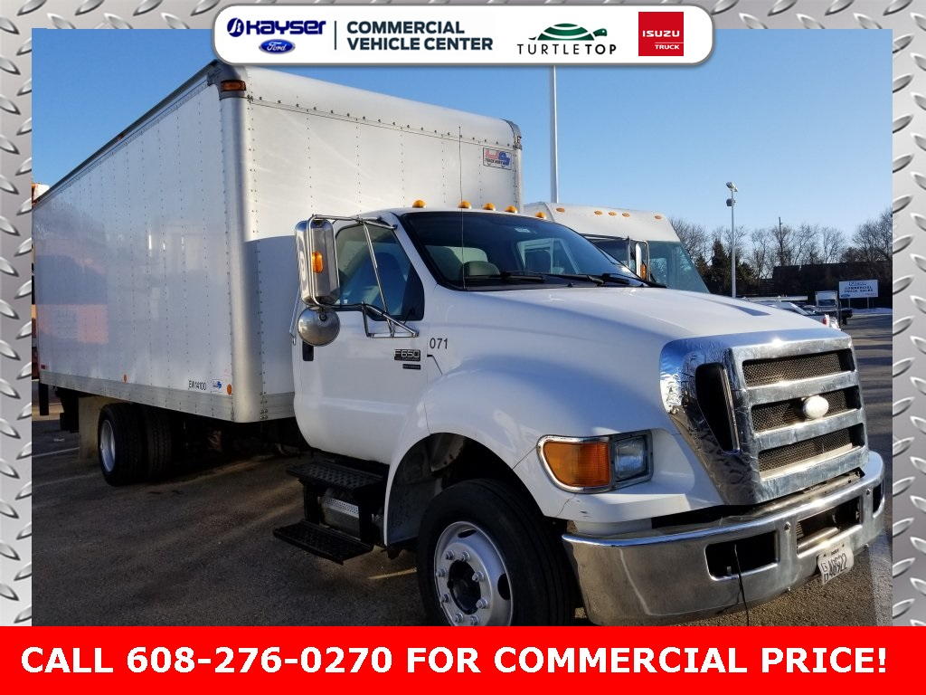 2008 F-650 Regular Cab DRW,  Dry Freight #J0300A - photo 3