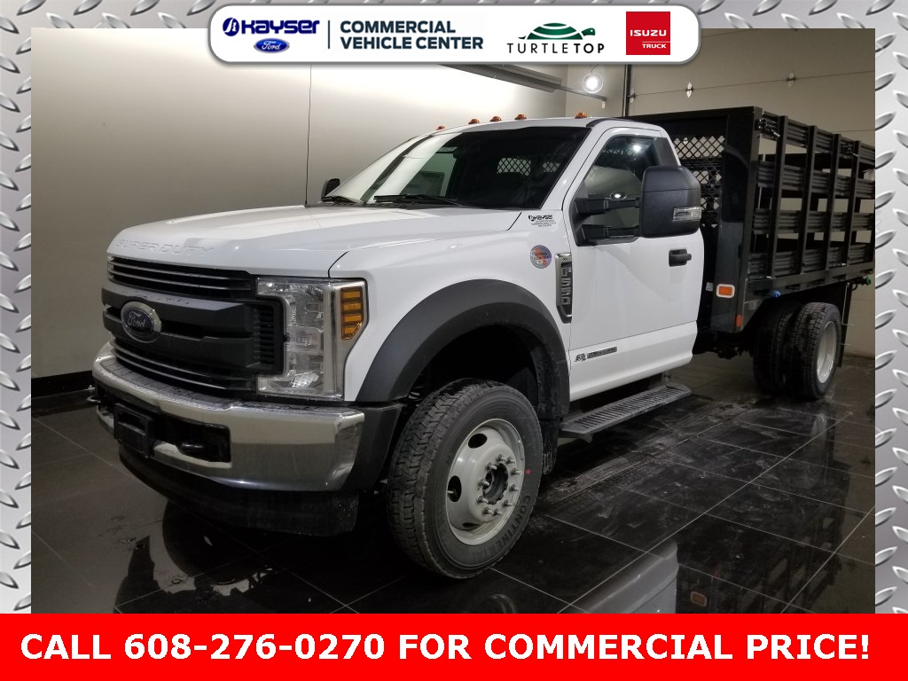 2018 F-550 Regular Cab DRW 4x4,  Knapheide Platform Body #J0329 - photo 2