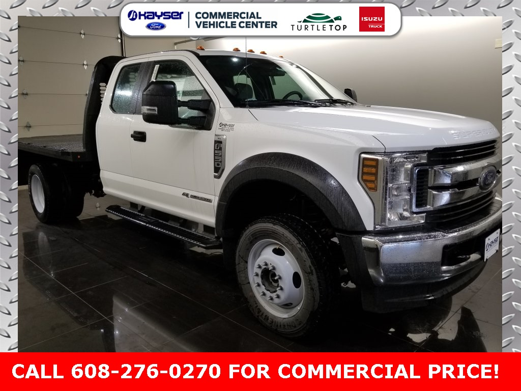 2018 F-550 Super Cab DRW 4x4,  Knapheide PGNB Gooseneck Platform Body #J0358 - photo 3