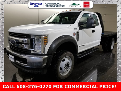 2018 F-550 Super Cab DRW 4x4,  Knapheide PGNB Gooseneck Platform Body #J0358 - photo 1