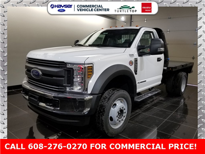 2018 F-550 Regular Cab DRW 4x4, Knapheide PGNB Gooseneck Platform Body #J0389 - photo 1