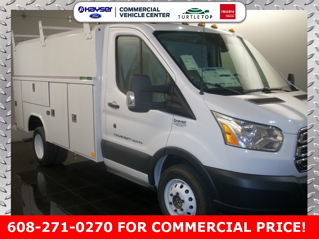 2018 Transit 350 HD DRW 4x2,  Reading Service Utility Van #J0461 - photo 3