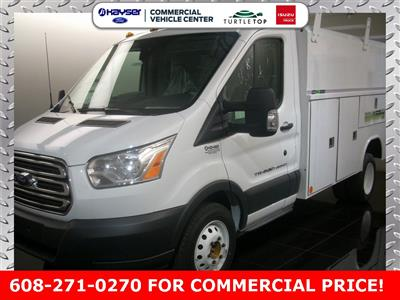 2018 Transit 350 HD DRW 4x2,  Reading Aluminum CSV Service Utility Van #J0461 - photo 1