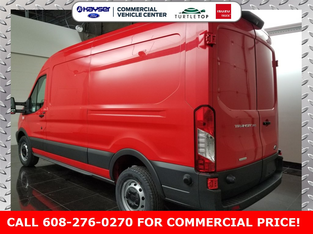2018 Transit 350 Med Roof 4x2,  Empty Cargo Van #J0462 - photo 4