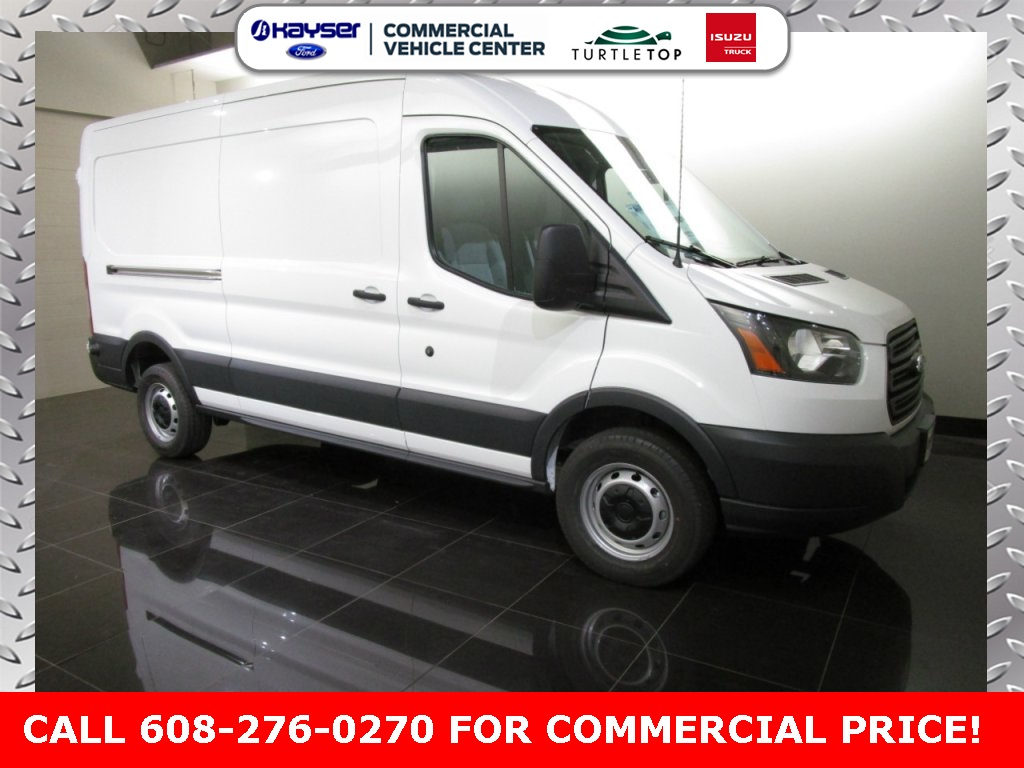 2018 Transit 350 Med Roof 4x2,  Empty Cargo Van #J0466 - photo 4