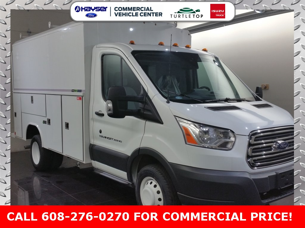 2018 Transit 350 HD DRW 4x2,  Reading Service Utility Van #J0482 - photo 3