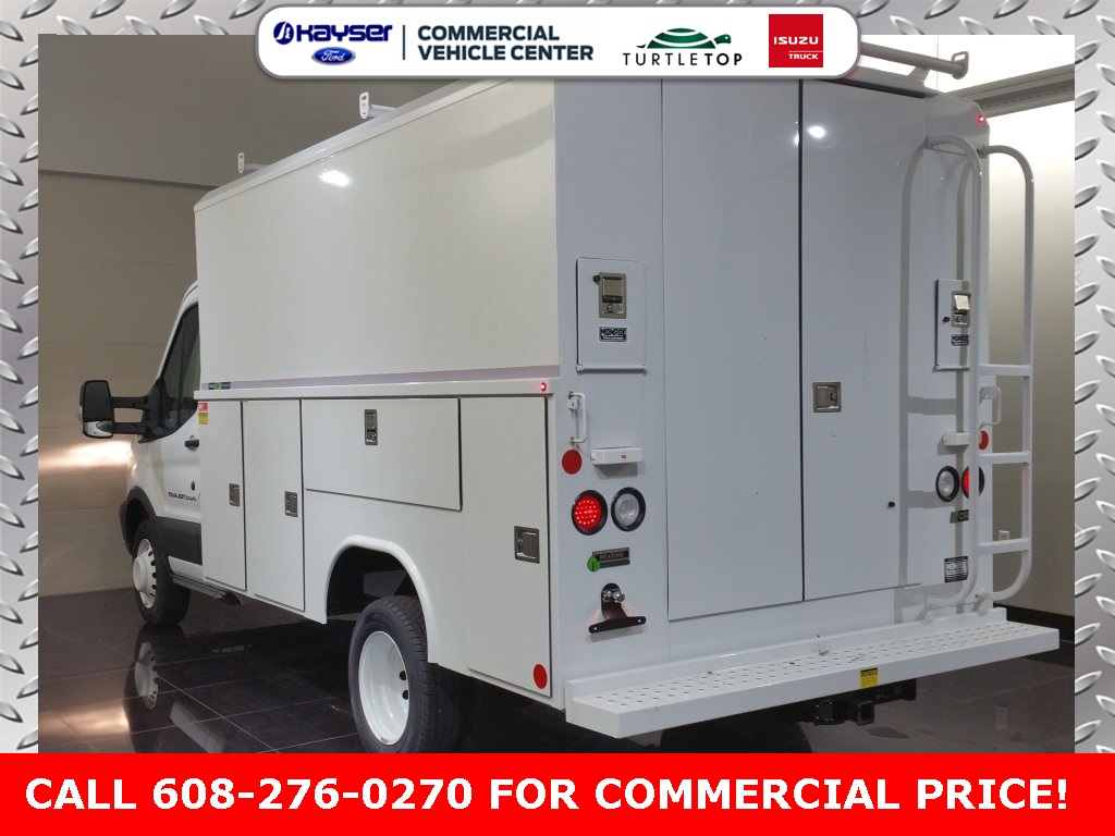 2018 Transit 350 HD DRW 4x2,  Reading Aluminum CSV Service Utility Van #J0502 - photo 2
