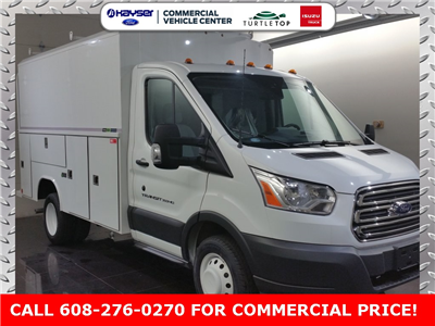 2018 Transit 350 HD DRW 4x2,  Reading Aluminum CSV Service Utility Van #J0502 - photo 3