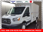 2018 Transit 350 HD DRW 4x2,  Reading Aluminum CSV Service Utility Van #J0502 - photo 1