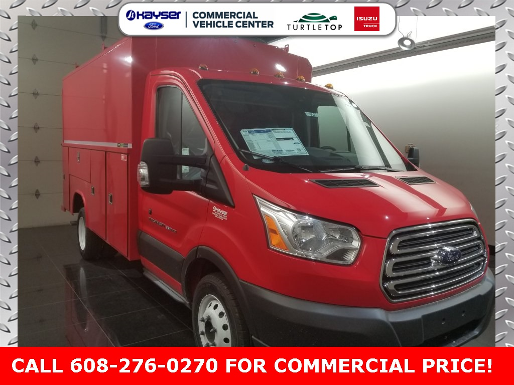 2018 Transit 350 HD DRW 4x2,  Reading Service Utility Van #J0527 - photo 3