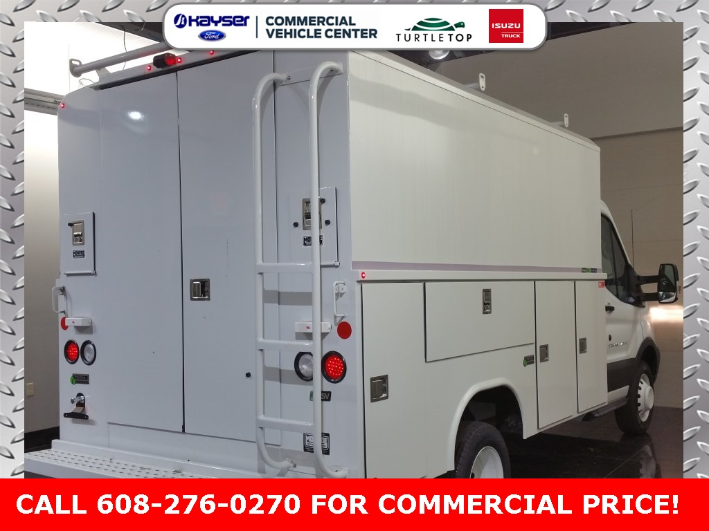 2018 Transit 350 HD DRW 4x2,  Reading Service Utility Van #J0528 - photo 4