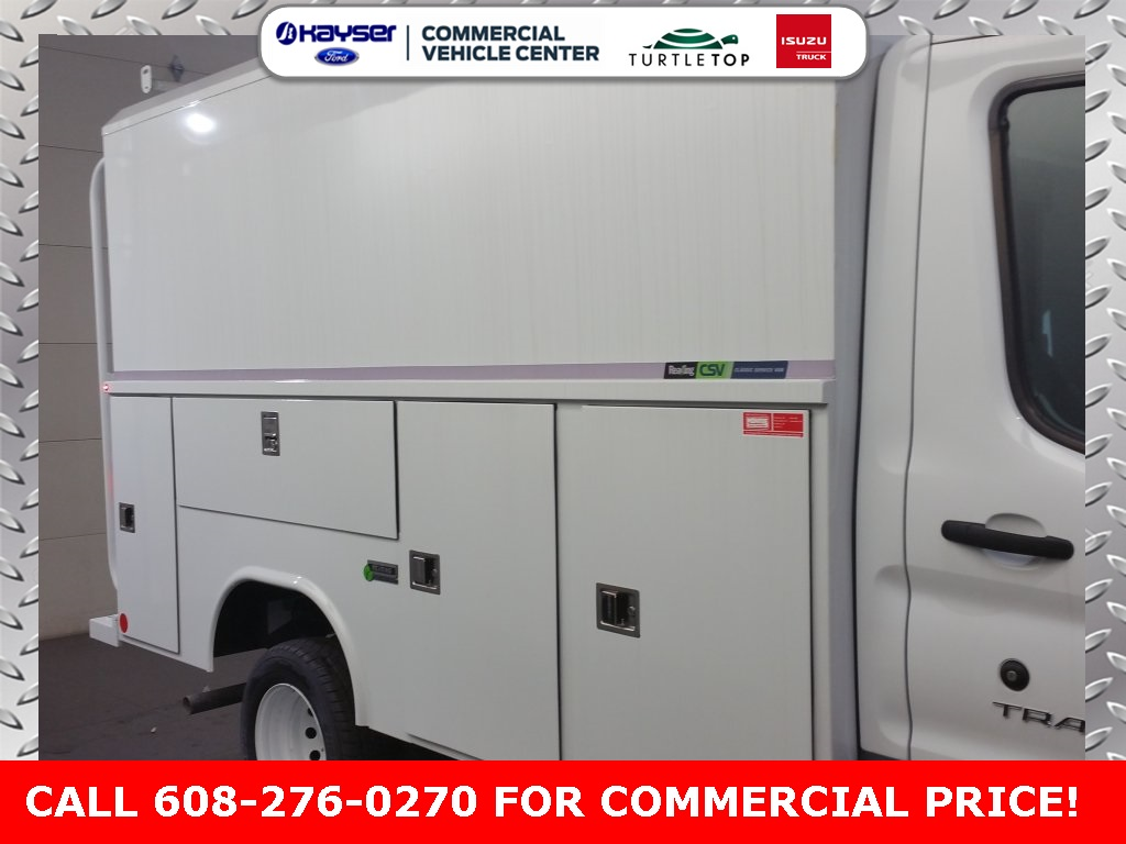 2018 Transit 350 HD DRW 4x2,  Reading Service Utility Van #J0528 - photo 6