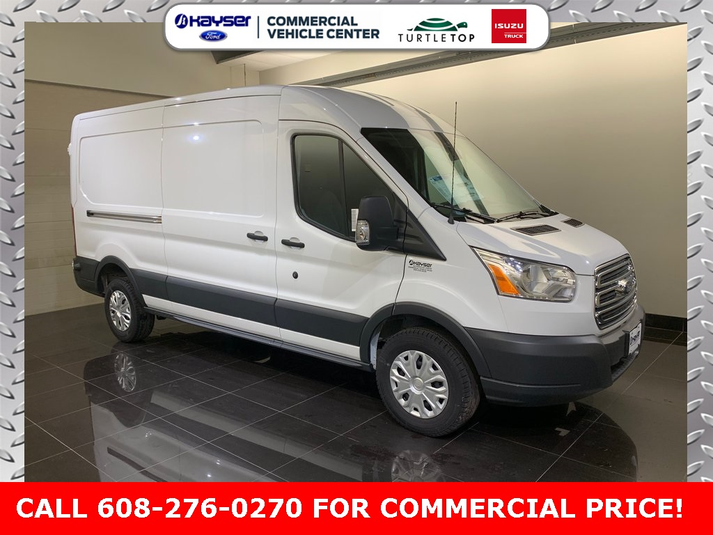 2018 Transit 250 Med Roof 4x2,  Empty Cargo Van #J0541 - photo 3