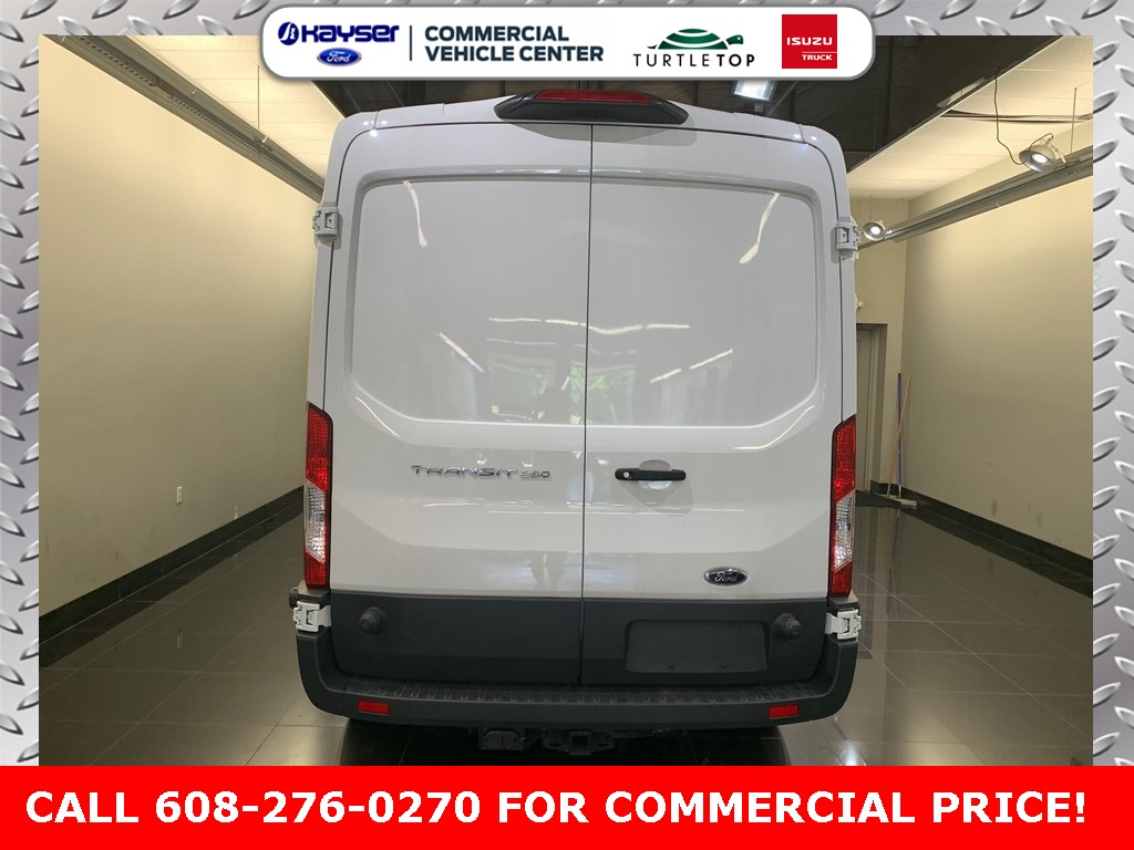 2018 Transit 250 Med Roof 4x2,  Empty Cargo Van #J0541 - photo 7