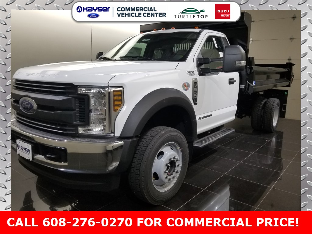 2019 F-550 Regular Cab DRW 4x4,  DuraClass Dump Body #K0747 - photo 3