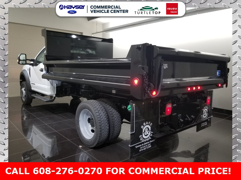 2019 F-550 Regular Cab DRW 4x4,  DuraClass Dump Body #K0747 - photo 4