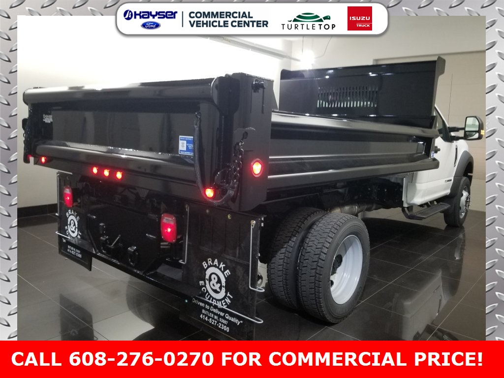 2019 F-550 Regular Cab DRW 4x4,  DuraClass Dump Body #K0747 - photo 2