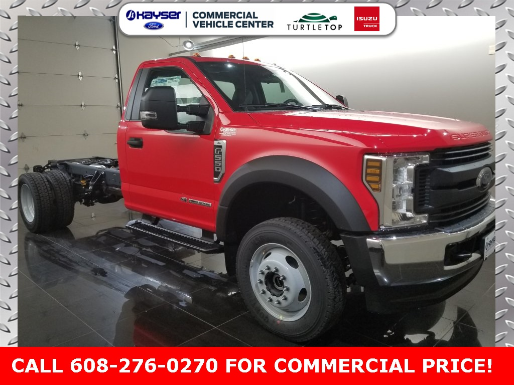 2019 F-550 Regular Cab DRW 4x4,  Cab Chassis #K0748 - photo 3