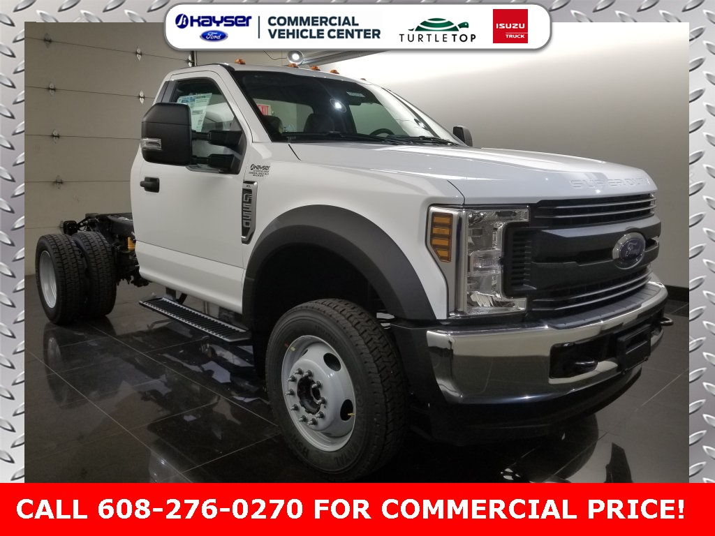 2019 F-550 Regular Cab DRW 4x4,  Cab Chassis #K0757 - photo 3