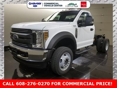 2019 F-550 Regular Cab DRW 4x4,  Cab Chassis #K0757 - photo 1