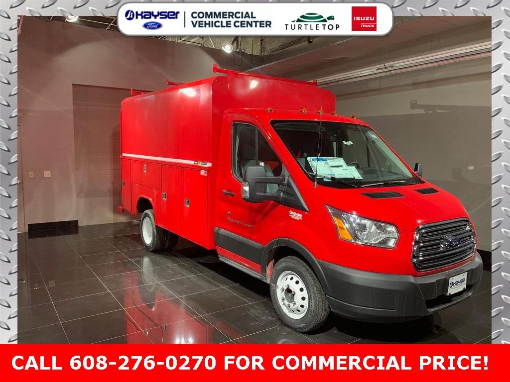 2019 Ford Transit 350 HD DRW 4x2, Reading Service Utility Van #K6138 - photo 1