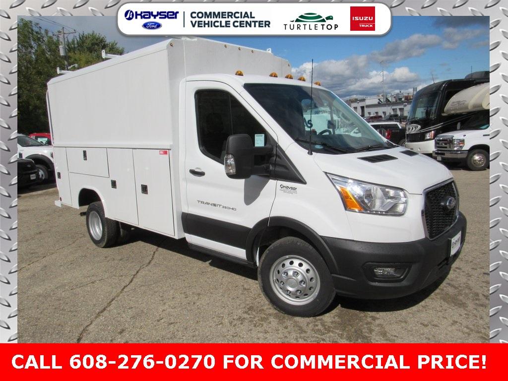 2020 Ford Transit 350 HD DRW RWD, Reading Service Utility Van #LC6466 - photo 1