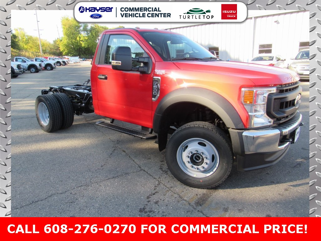 2020 Ford F-600 Regular Cab DRW 4x4, Cab Chassis #LC6468 - photo 1