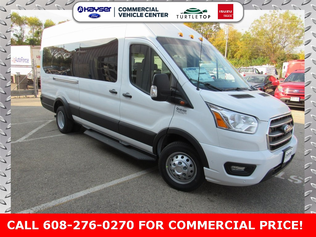 2020 Ford Transit 350 HD High Roof DRW 4x2, Passenger Wagon #LC6498 - photo 1