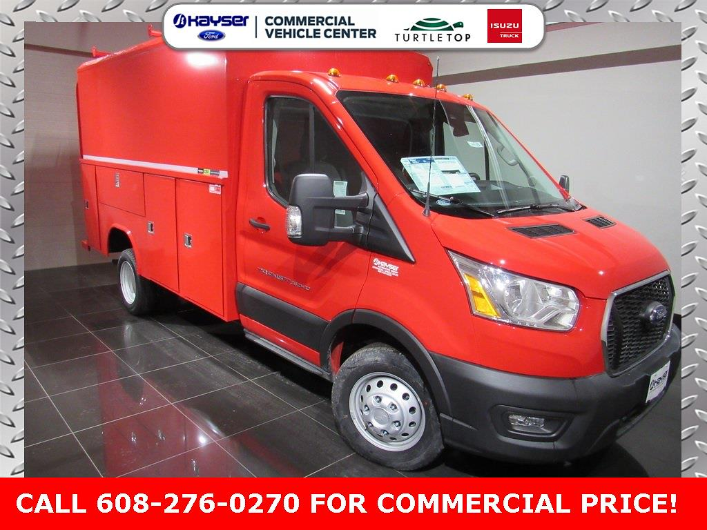 2020 Ford Transit 350 HD DRW 4x2, Reading Service Utility Van #LC6520 - photo 1