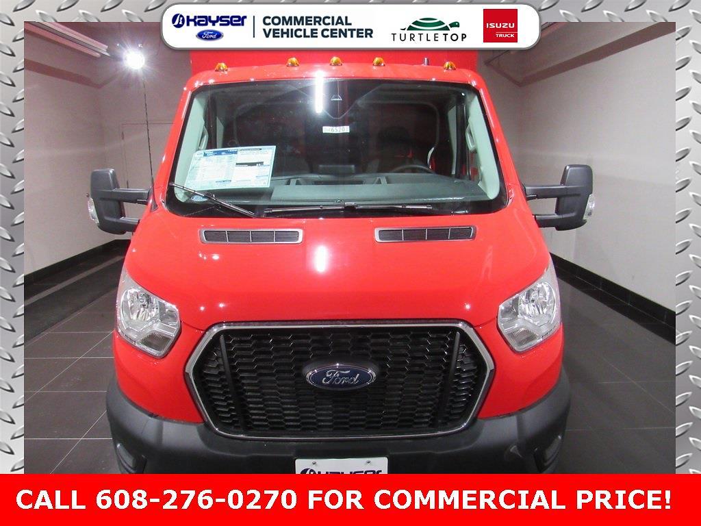 2020 Ford Transit 350 HD DRW 4x2, Reading Service Utility Van #LC6520 - photo 1