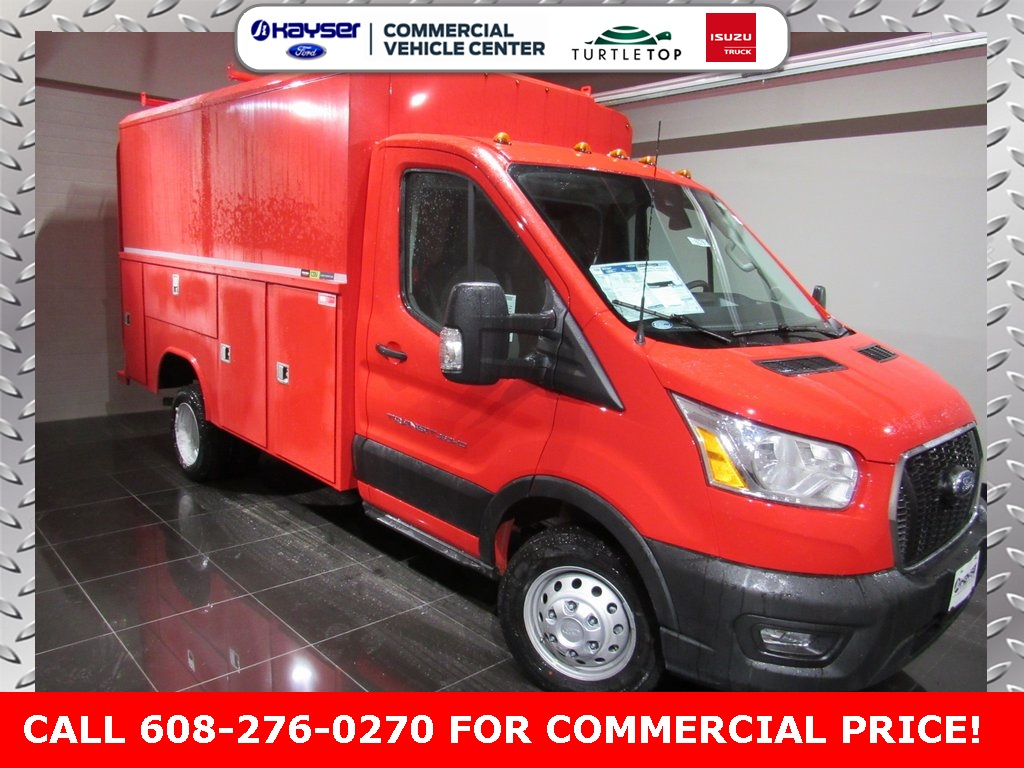 2020 Ford Transit 350 HD DRW 4x2, Reading Service Utility Van #LC6579 - photo 1