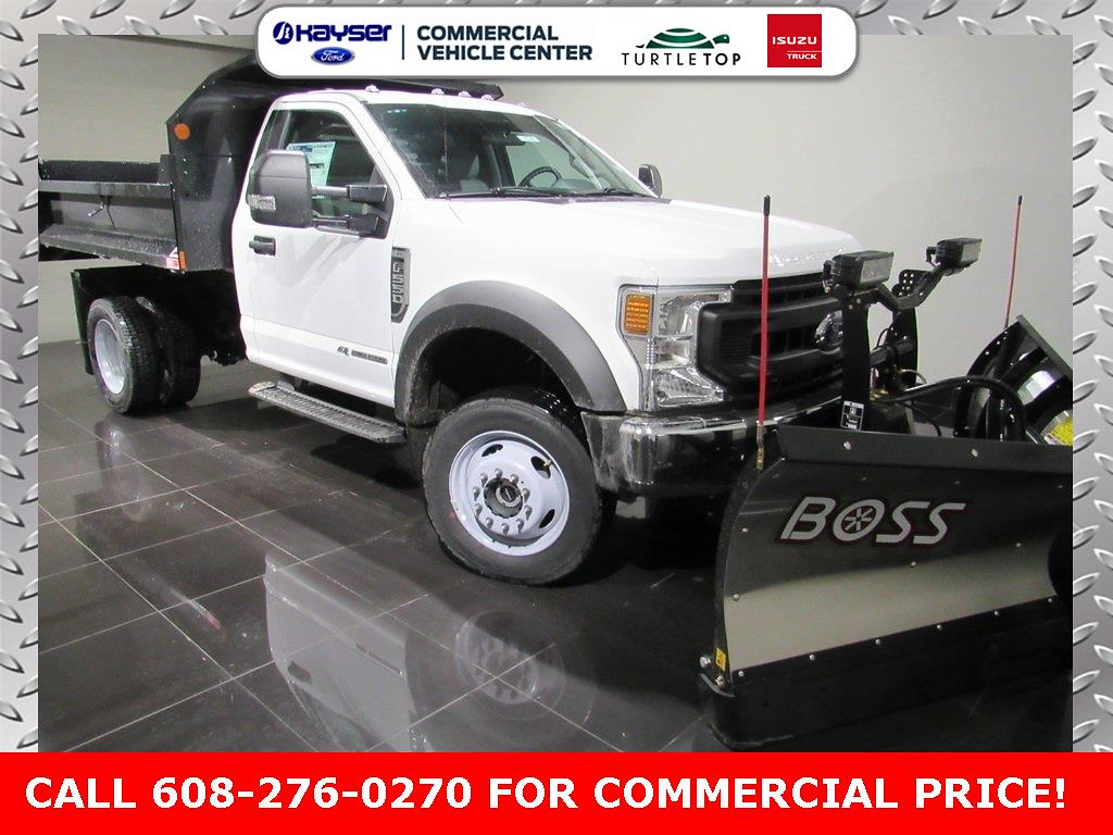 2020 Ford F-550 Regular Cab DRW 4x4, BOSS Dump Body #LC6588 - photo 1