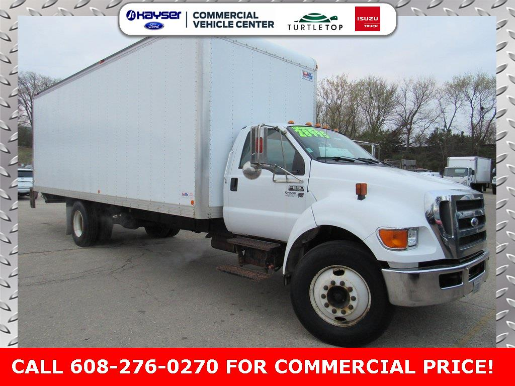 2015 Ford F-650 Regular Cab DRW 4x2, Dry Freight #M6247A - photo 1