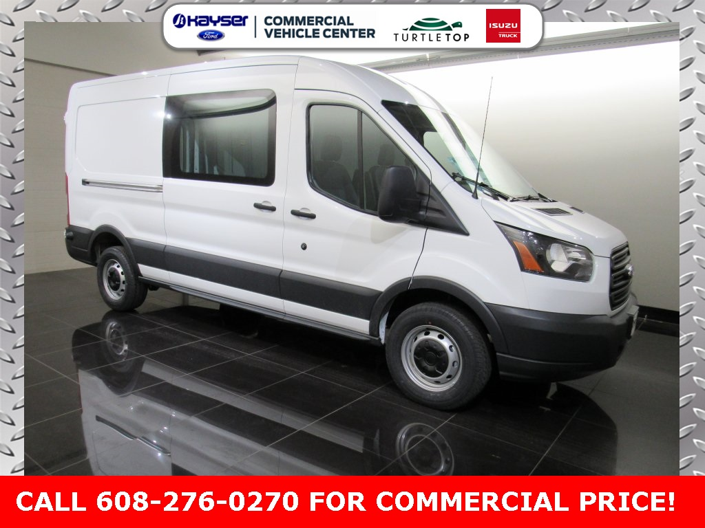 2017 Transit 250 Medium Roof Cargo Van #S5718 - photo 3