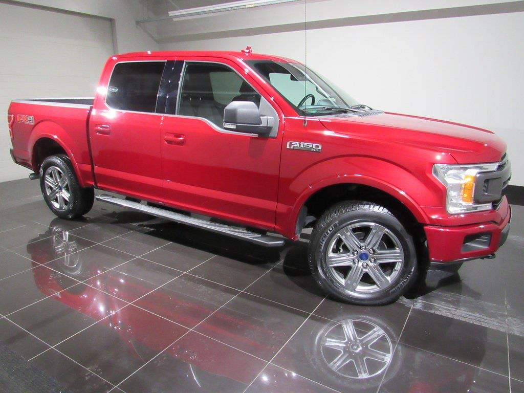 2018 F-150 SuperCrew Cab 4x4,  Pickup #T9809 - photo 4