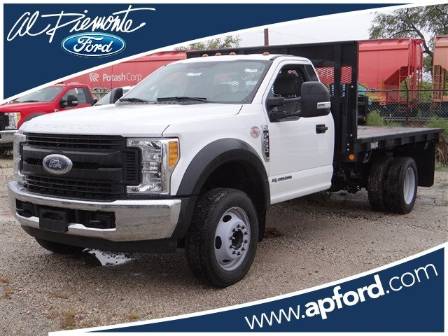 2017 F-550 Regular Cab DRW 4x2,  Parkhurst Platform Body #00055179 - photo 1