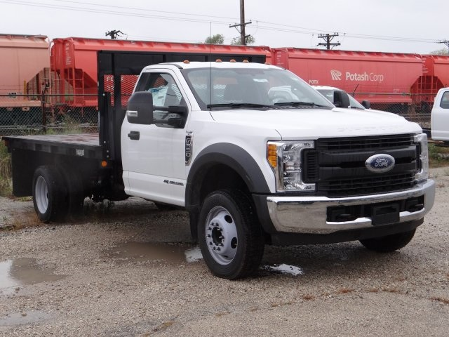 2017 F-550 Regular Cab DRW 4x2,  Parkhurst Platform Body #00055179 - photo 5
