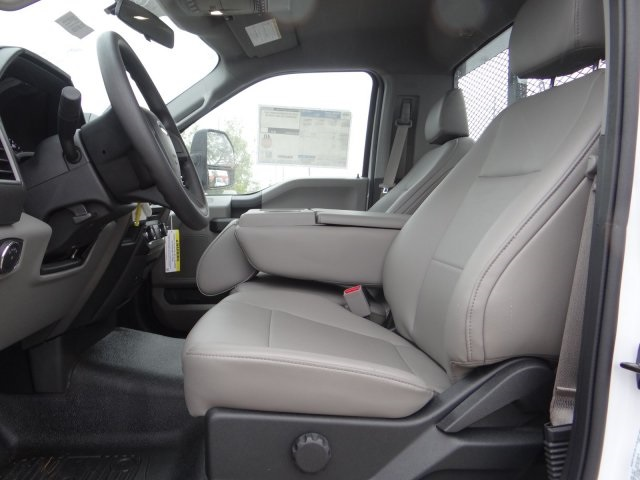 2017 F-550 Regular Cab DRW 4x2,  Parkhurst Platform Body #00055179 - photo 9