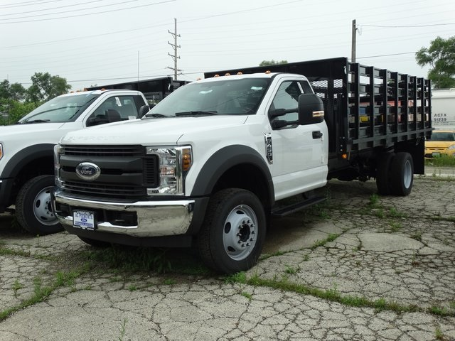 2018 F-450 Regular Cab DRW,  Stake Bed #00055843 - photo 1