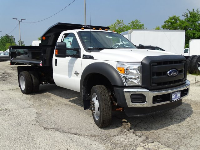 2016 F-450 Regular Cab DRW, Monroe Dump Body #53154 - photo 4
