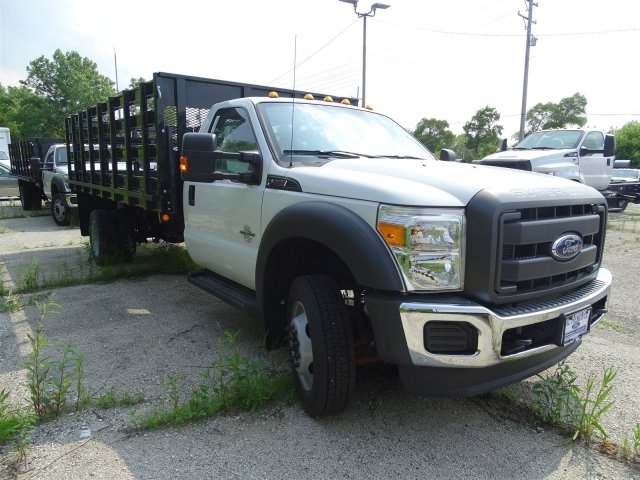 2016 F-450 Regular Cab DRW, Parkhurst Platform Body #53214 - photo 4