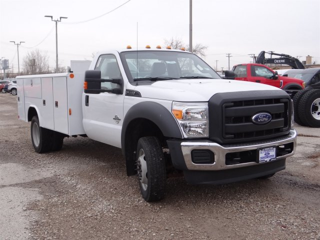 2016 F-550 Regular Cab DRW 4x4, Reading Service Body #54145 - photo 5