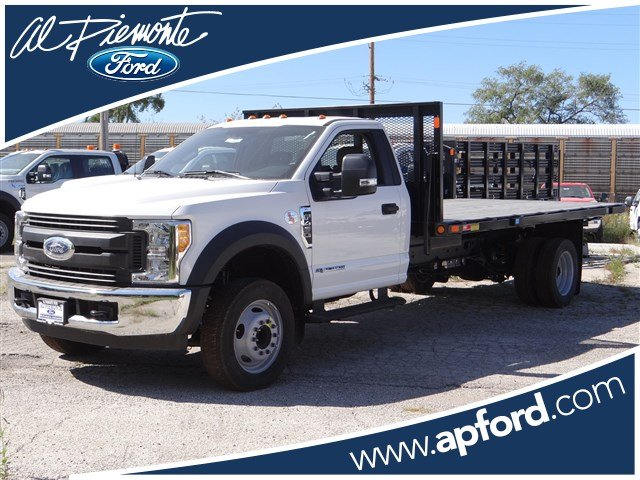 2017 F-450 Regular Cab DRW, Monroe Versa-Line Platform Platform Body #55032 - photo 1