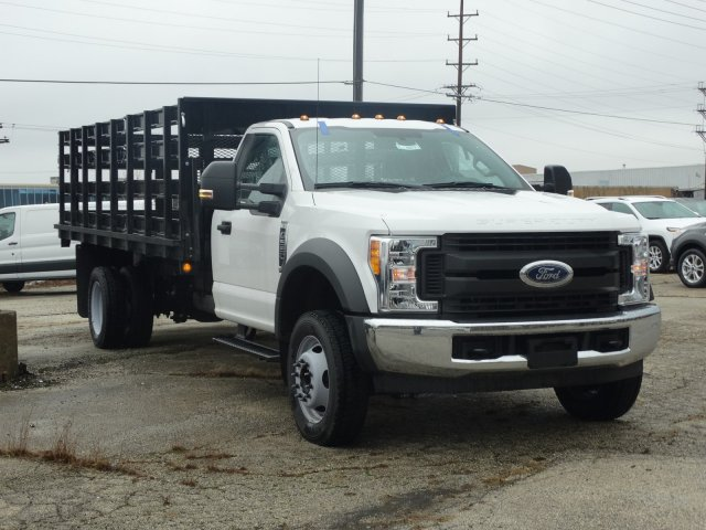 2017 F-550 Regular Cab DRW, Parkhurst Stake Bed #55573 - photo 6