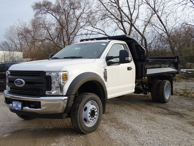 2018 F-450 Regular Cab DRW 4x2,  Knapheide Drop Side Dump Body #56246 - photo 1