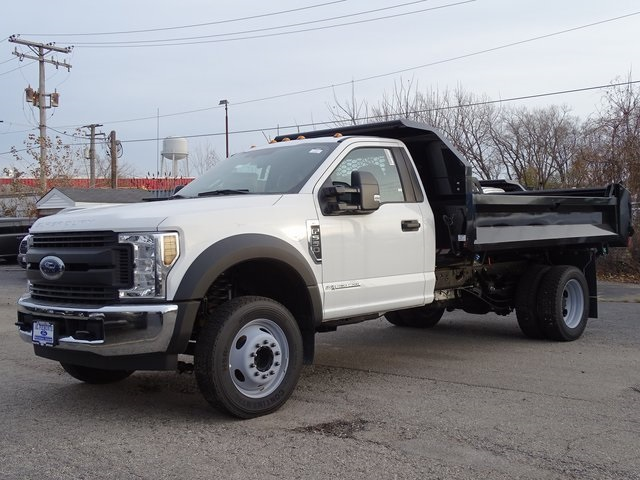 2018 F-550 Regular Cab DRW 4x2,  Knapheide Drop Side Dump Body #56253 - photo 1